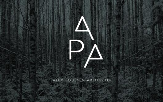 Designspiration — Visuel identitet til Alex Poulsen Arkitekter | Re-public
