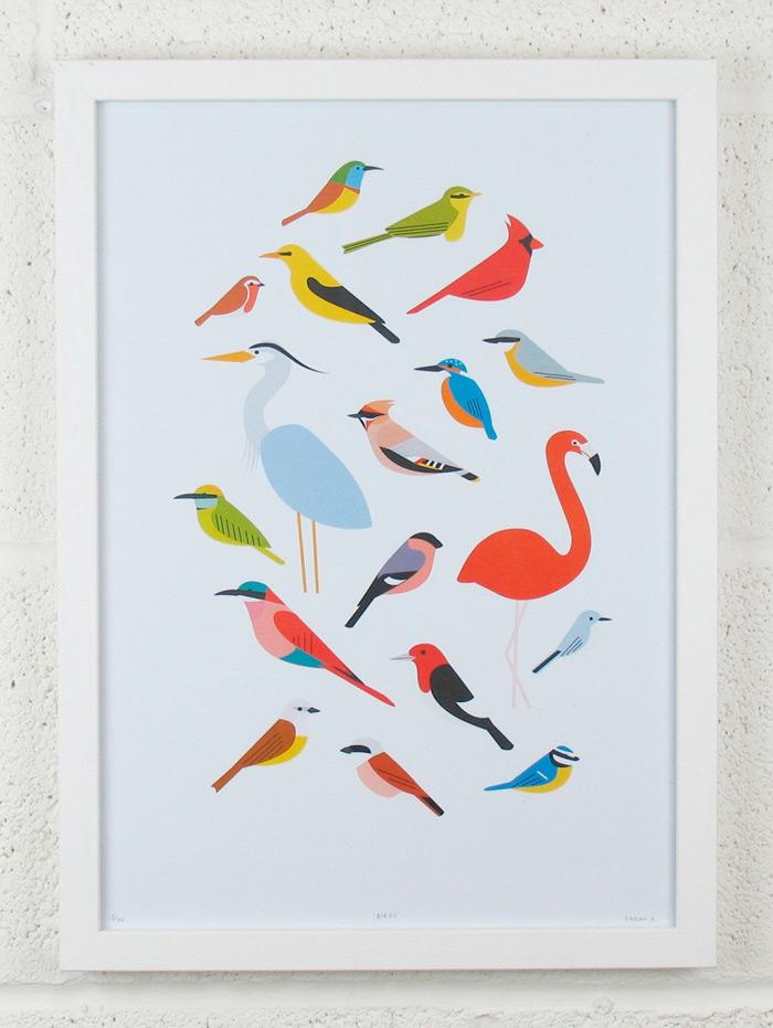 Etsy Finds: Sarah Abbott Art & Illustration | Design Work Life