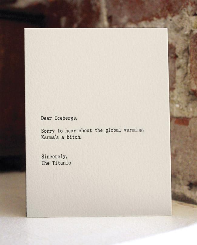 Dear Blank, Please Blank » Design You Trust
