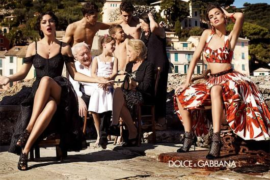 Piccsy :: Bianca Balti & Monica Bellucci // Dolce & Gabbana