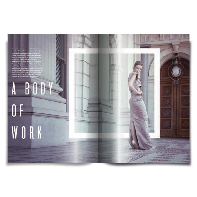 Magazine Design Inspiration - MagSpreads: Fashion Look Book - Layout Design