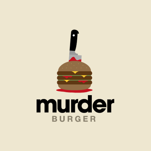 Murder Burger - Logos on Creattica: Your source for design inspiration