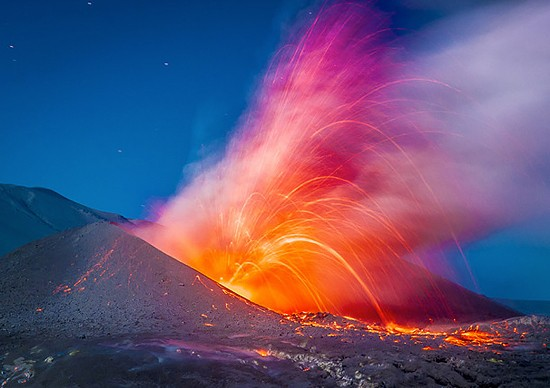 Fiery: Volcano Photography by Francisco Negroni | Inspiration Grid | Design Inspiration