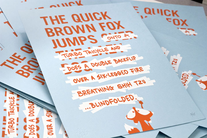 The Quick Brown Fox has Minor Changes | 55 Hi's | A Design Collective