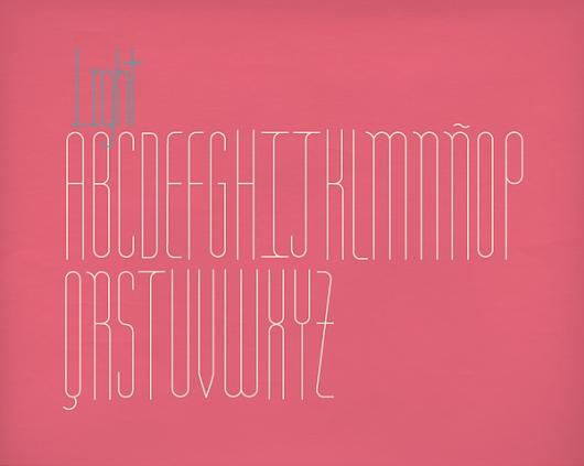Designspiration — MONAMOUR Type on Typography Served