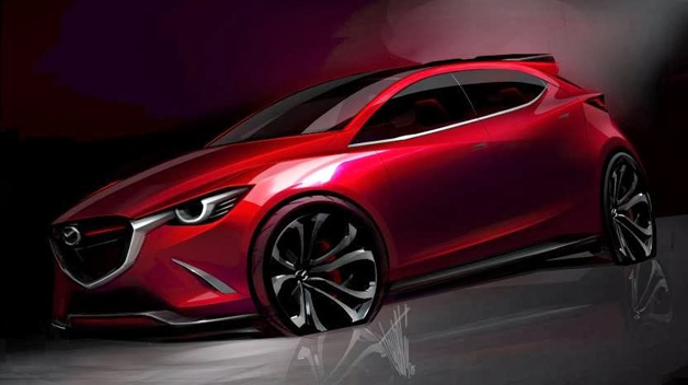 Mazda Hazumi Concept shows up ahead of Geneva - Autoblog