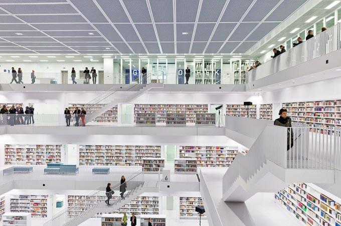 The Cool Hunter - The New Stuttgart City Library - Germany