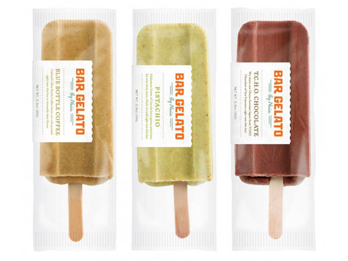 Gelato Bar - TheDieline.com - Package Design Blog