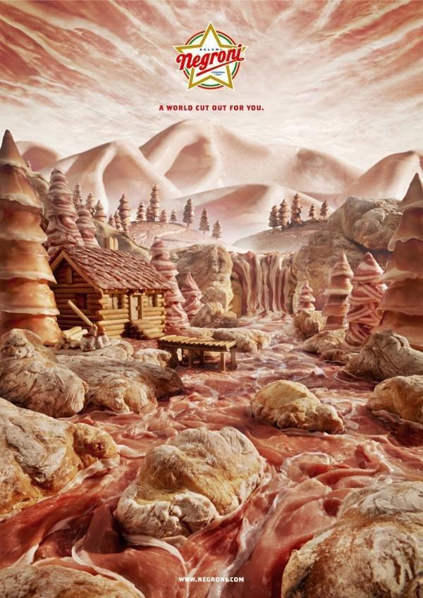 Food Landscapes by Carl Warner | InspireFirst