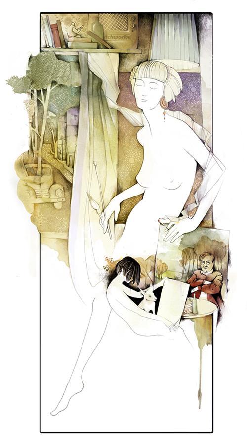 Watercolor Paintings by Alexej Kurbatov   InspireFirst