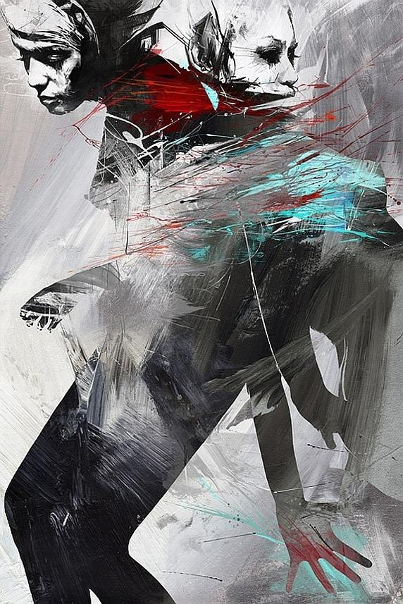 Stylish Illustrations By Russ Mills | InspireFirst