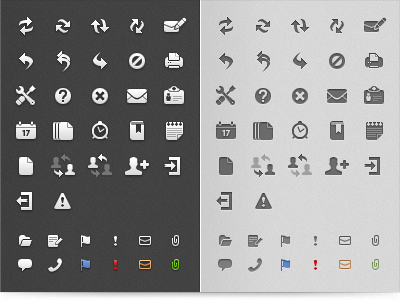 E-mail client icons by Vaclav Vancura