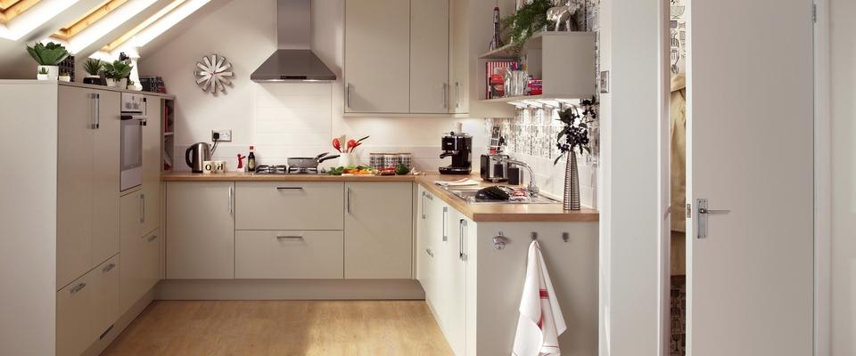 Greenwich Grey Kitchen Range | Kitchen Families | Howdens Joinery