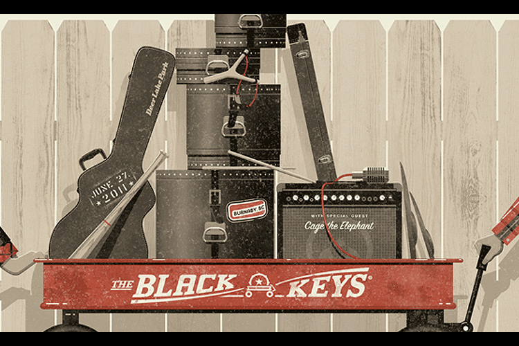 "The Black Keys poster | Designcollectorâ""¢"