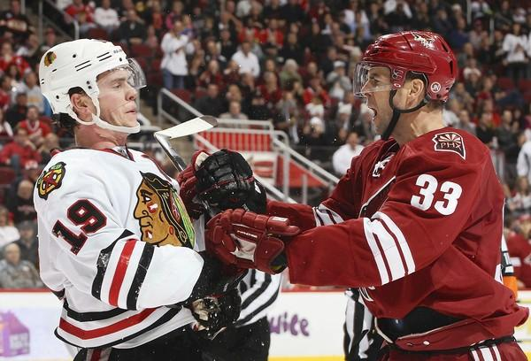 Blackhawks-Coyotes: Skid hits eight, as Chicago Blackhawks fall 3-0 - chicagotribune.com
