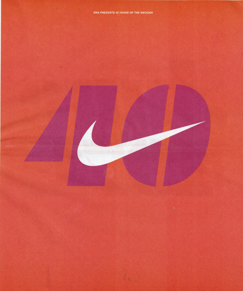 Swoosh: 40 Years Fly By — Imprint-The Online Community for Graphic Designers