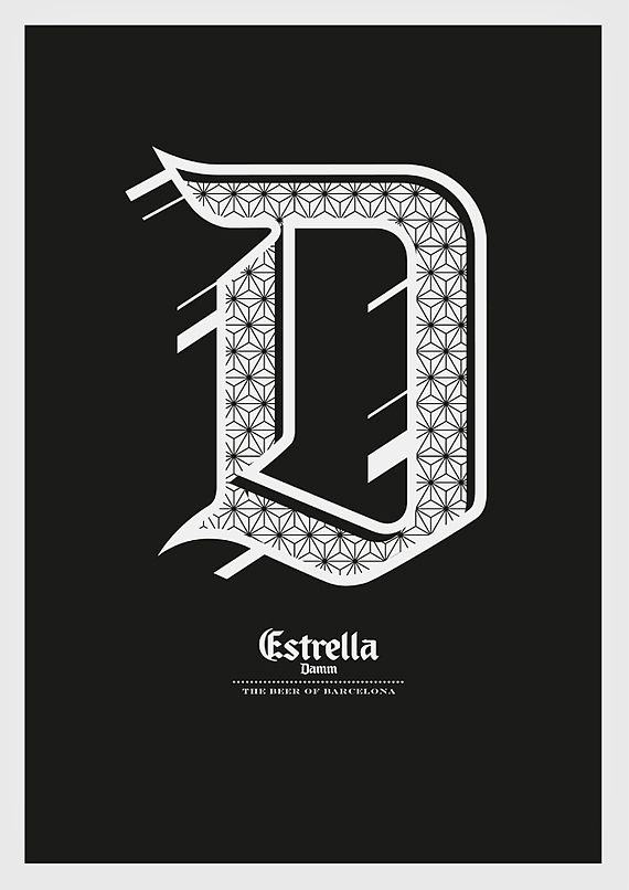 POSTERS IV by Mark Brooks | Typography | Inspiration DE
