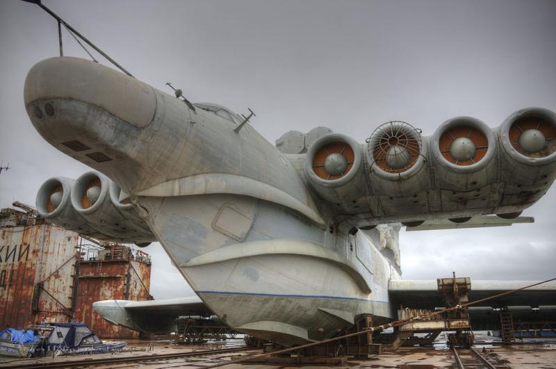 Ekranoplan | English Russia