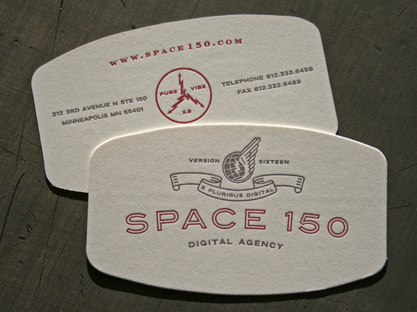 All sizes | Letterpress business card design | Flickr - Photo Sharing!