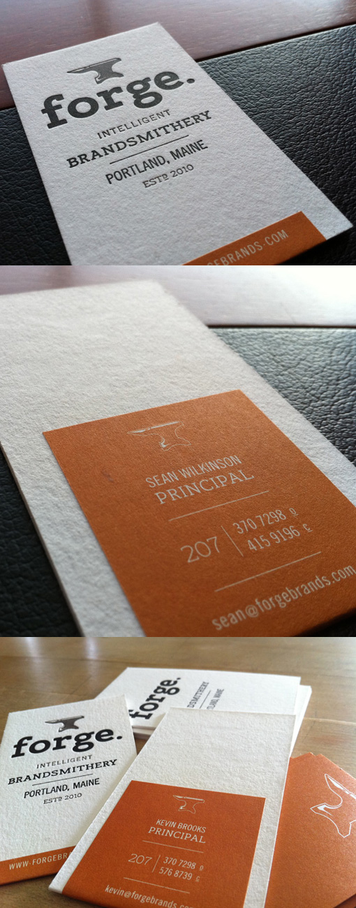 Customized Letterpress Card | Business Cards Observer