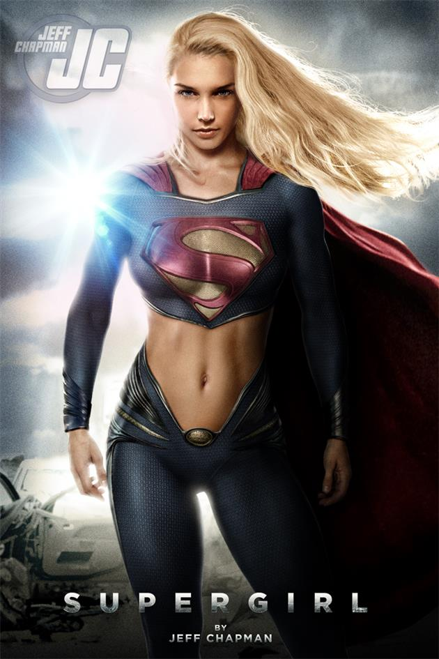 Supergirl 'Girl of Steel' by Jeff Chapman | Inspiration DE