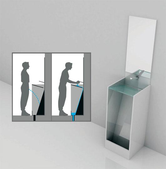 Desian Urinals and Hand Washer that was Almost Perfect | Home Design | Interior | Architecture | Furniture | Garden