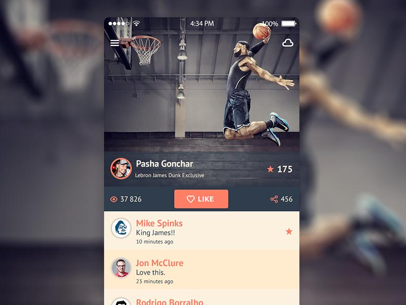 Mobile Design Inspiration – iOS 7 iPhone app UI design ...