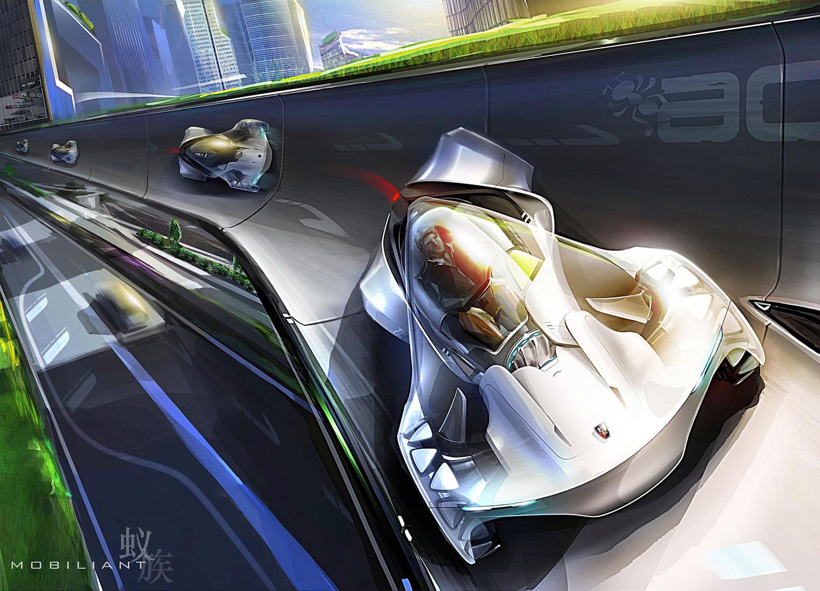 Roewe Mobiliant - Concept Art - Car Body Design
