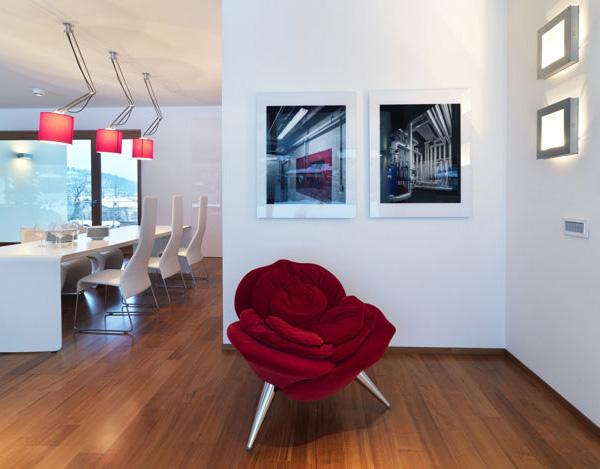 Warmth Italian Countryside House Makes a Modern Statement   Home Design   Interior   Architecture   Furniture   Garden