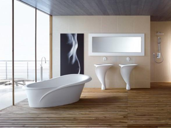Modern Bathroom Inspired by Tulips | Home Design | Interior | Architecture | Furniture | Garden