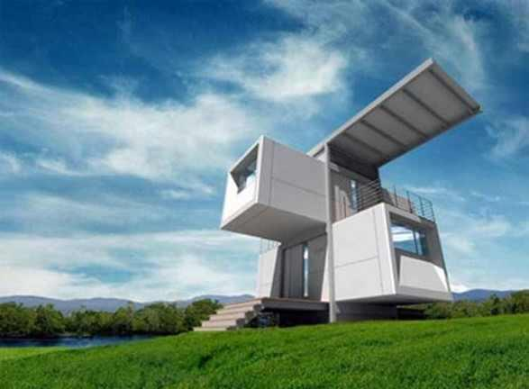 Uniquely Themed House Cube by Scott Specht | Home Design | Interior | Architecture | Furniture | Garden