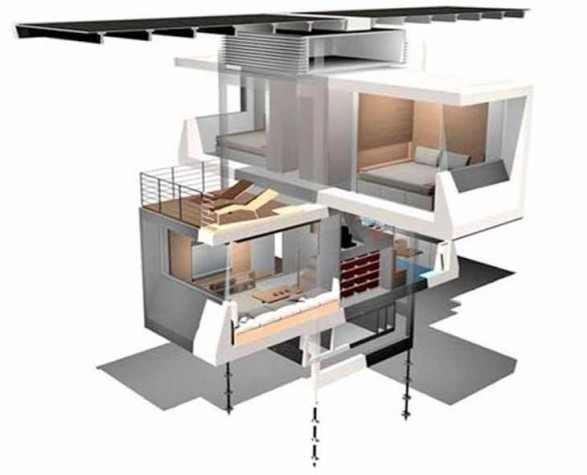Uniquely Themed House Cube by Scott Specht   Home Design   Interior   Architecture   Furniture   Garden