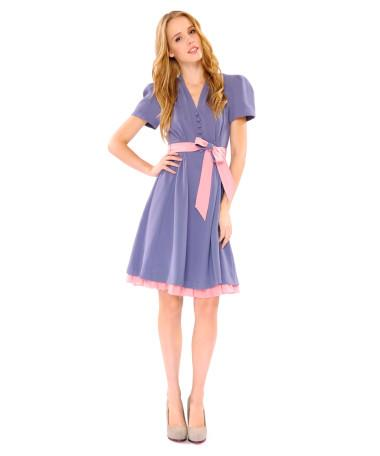 SWEET LITTLE CREPE DRESS - Betsey Johnson