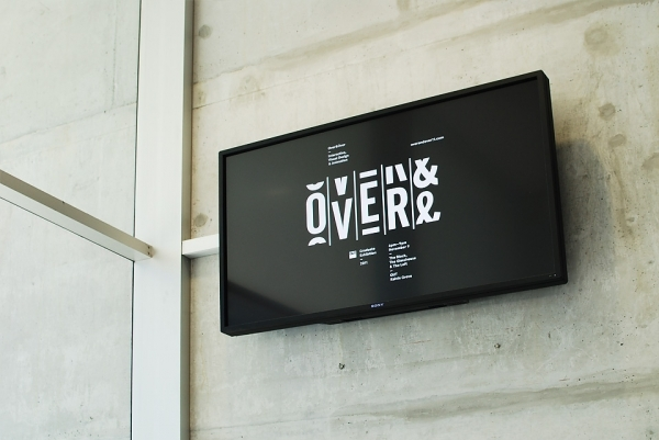 Typography / Over and Over Exhibition : Luke Robertson — Designspiration
