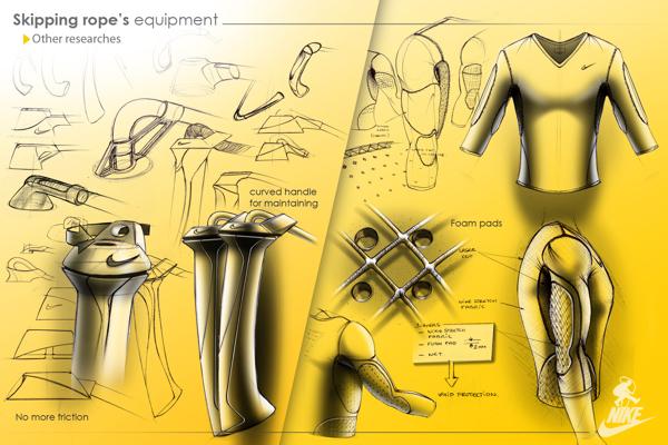 Nike : Skipping rope's equipment on
