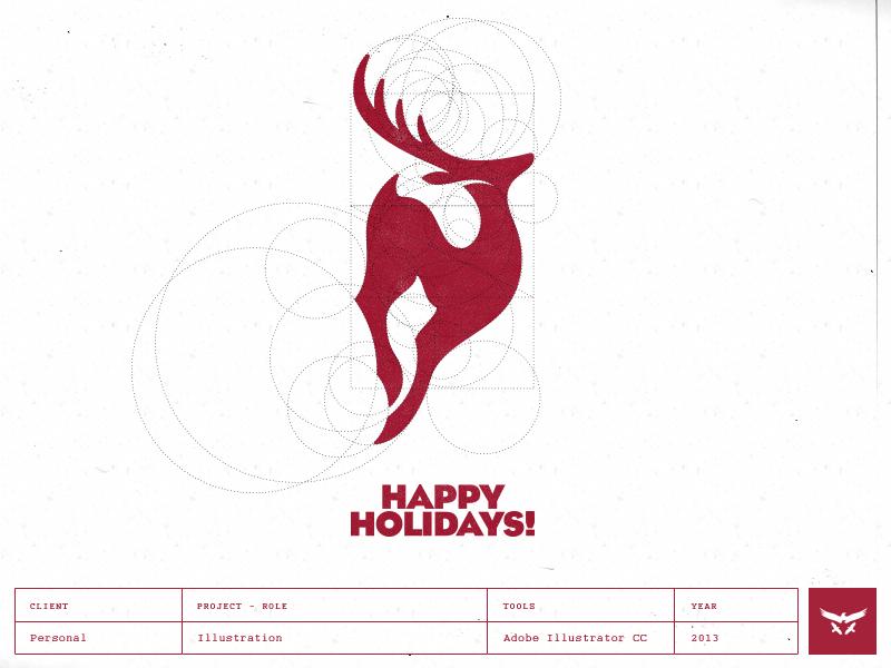Happy Holidays - Logo Design by Gert van Duinen