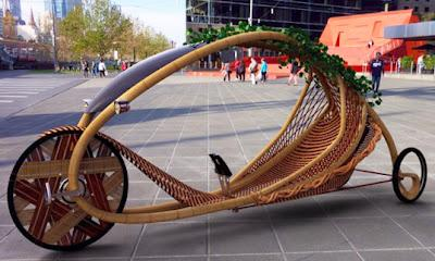 Lloyd's Blog: Ajiro Bamboo Bike is Grown From Ground Up