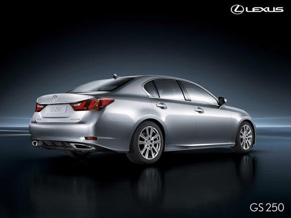 LEXUS - The all-new GS - Future Launches