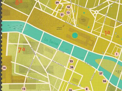 Map Of Paris by kellianderson