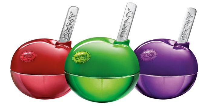 DKNY Candy Apples Parfume - The Dieline: The World's #1 Package Design Website -