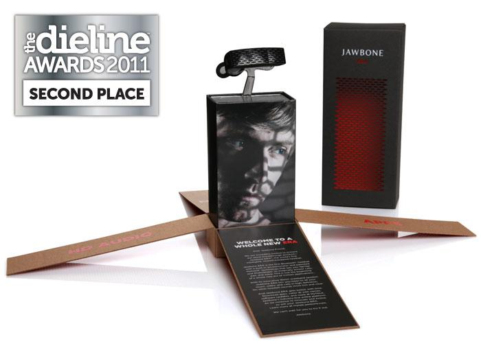The Dieline Awards 2011: Second Place - Jawbone ERA Packaging - The Dieline: The World's #1 Package Design Website -