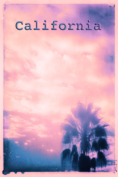 California Pink Art Print by Nina May | Society6