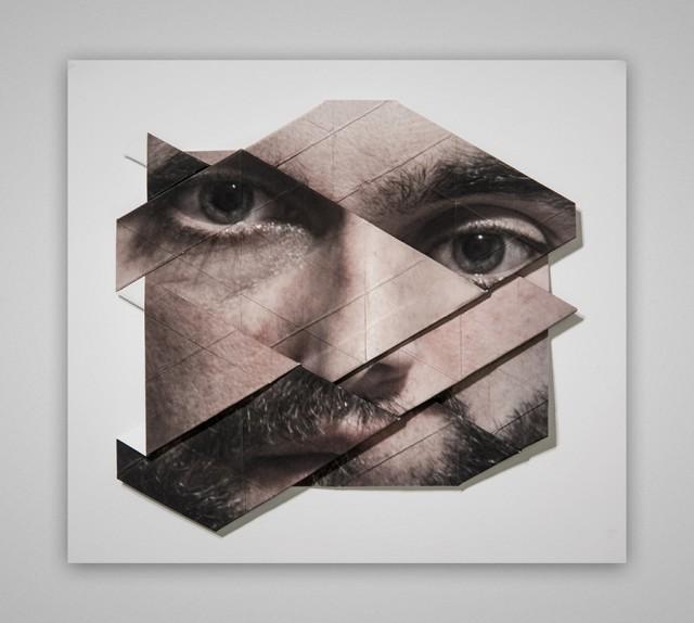 Origami Faces by Aldo Tolino – Fubiz™