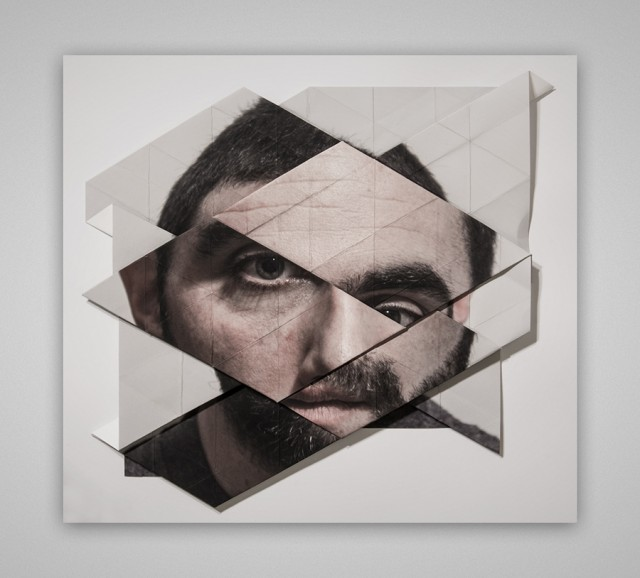 Origami Faces by Aldo Tolino – Fubiz™