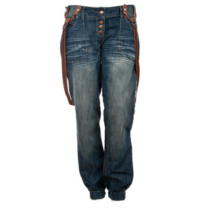 Crafted Pocket Braces Cuff Jeans (Womens) | Buy Womens Jeans online from Republic