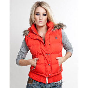 Soul Cal Deluxe Padded Hood Gilet (Womens) | Buy Womens Jackets & Coats online from Republic