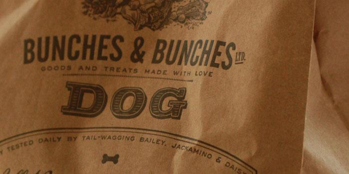 Bunches &Bunches - TheDieline.com - Package Design Blog