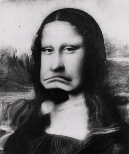 Distorted Smile: Weegee's Mona Lisa - LightBox