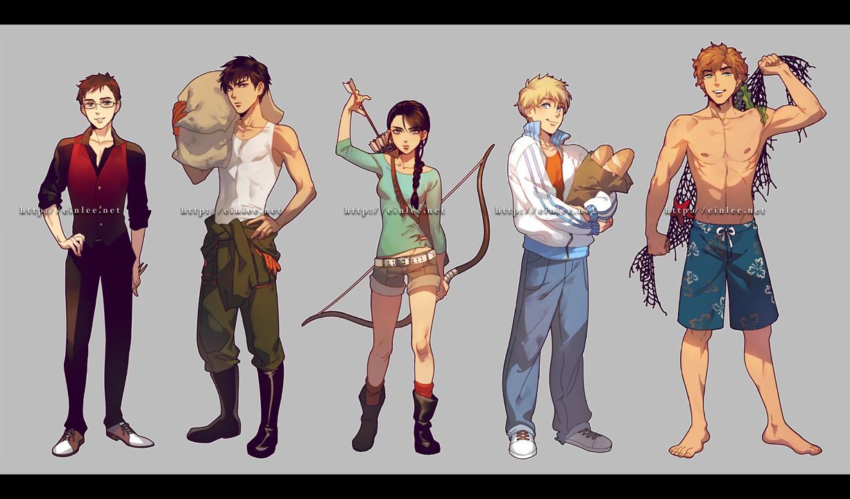 Hunger Games by *einlee
