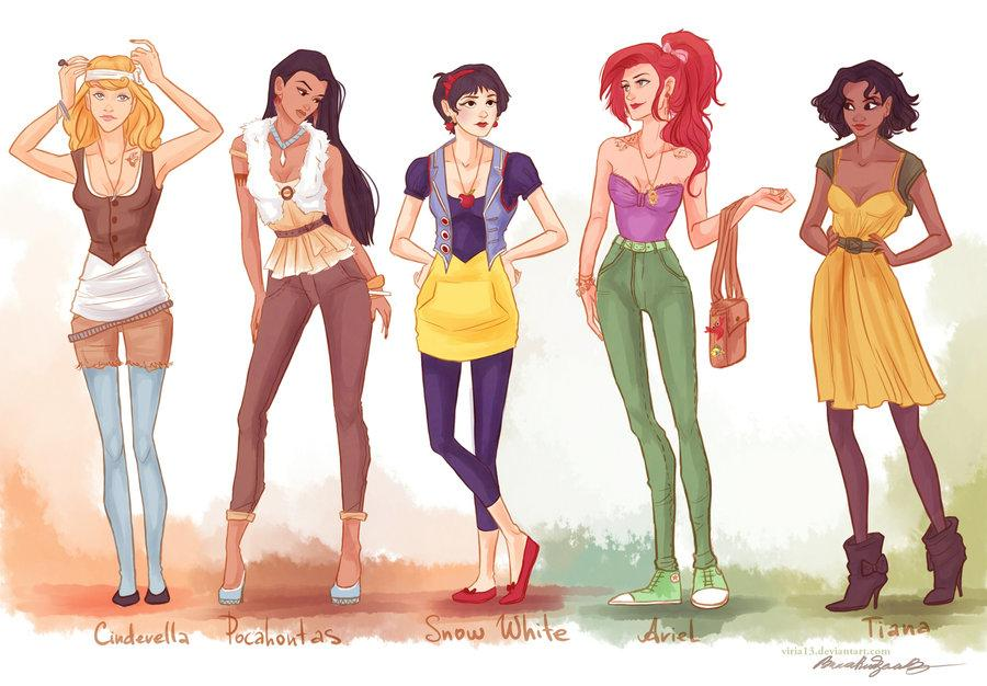 fashion princesses P1 by *viria13